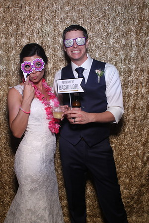Cassie and Marc's Haight Wedding Mirror Booth Photos
