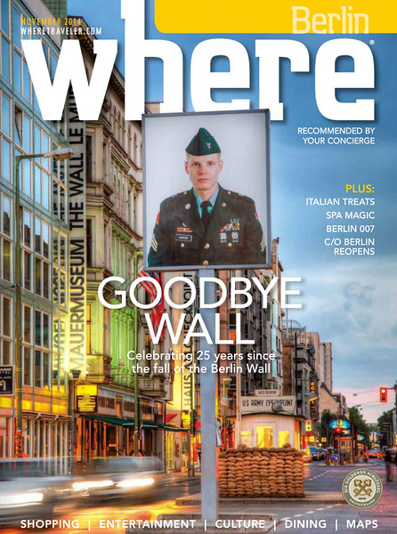 November Cover of Where Berlin