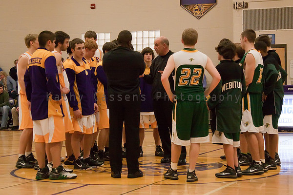 RHS Varsity Boys Basketball - Senior Night
