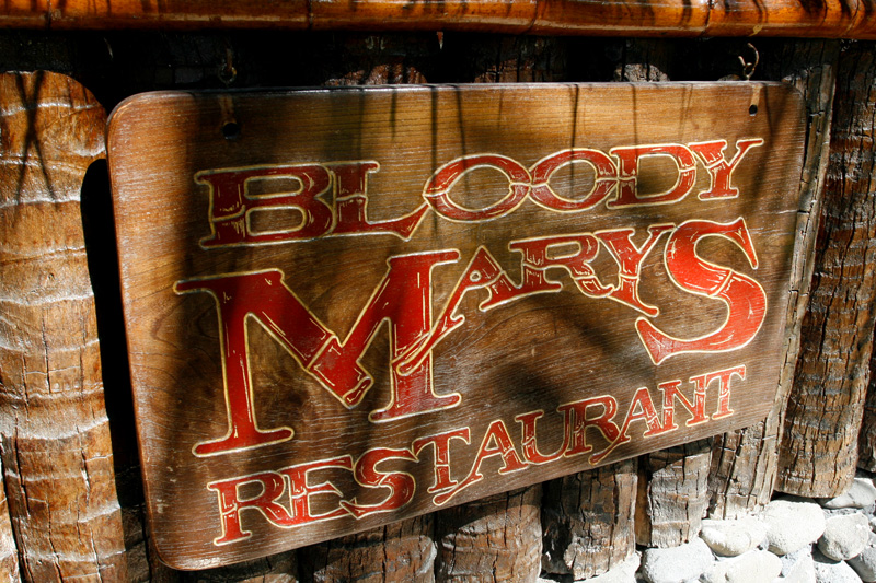 Famous Bloody Mary's