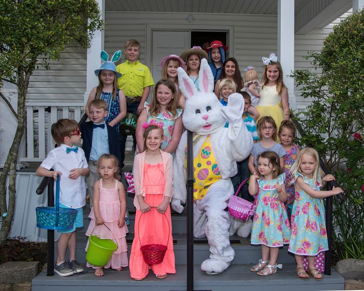 Easter Egg Hunt at Patton Baptist Church  2018