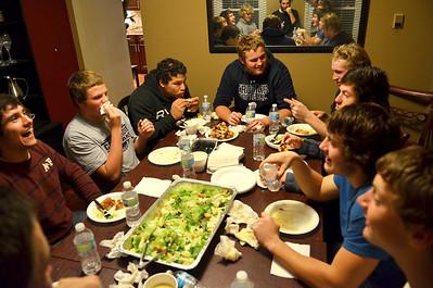 20121030 - Offensive Line Dinner