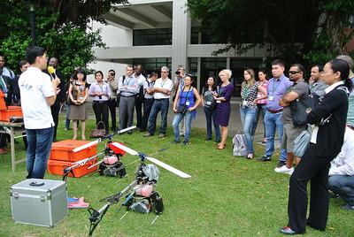 20120918 國際土地政策研究訓練中心「地理資訊系統與土地管理」研習班中外學員參訪