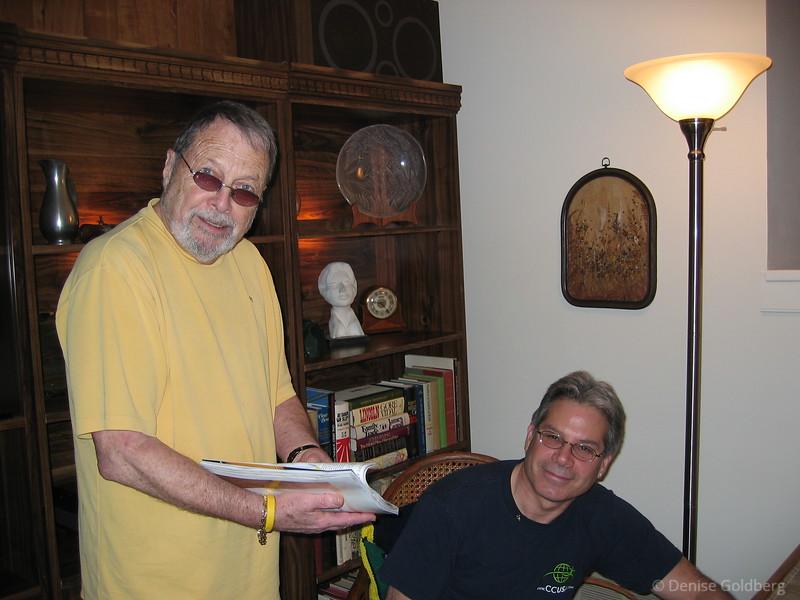 Dad and Neal, November 2004