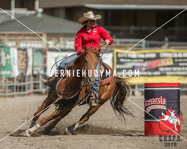 Friday Senior Girls Barrel Racing 2019