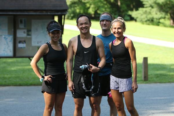 Long Run #17 - Lake Needwood to Dewey to Matthew Henson and Back