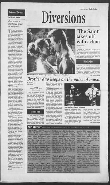 Daily Trojan, Vol. 130, No. 50, April 03, 1997