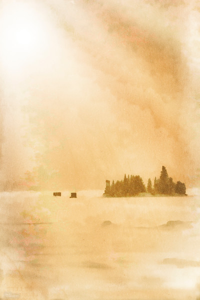 """Snowy Day At Shagawa Shack"""