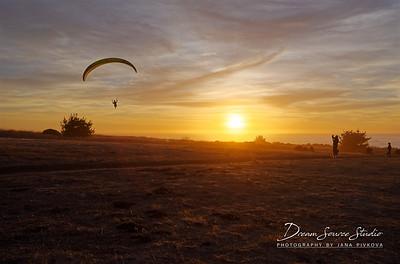 Paragliding & Hang Gliding in Big Sur