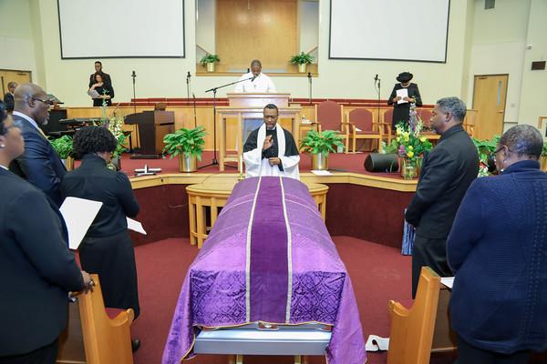 Funeral Service for Adelaide Dayrell Gardiner