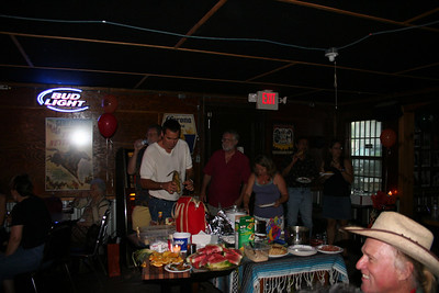 My birthday party 8-9-07