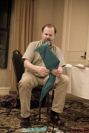 world-renowned origami artist Dr. Robert J. Lang