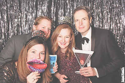12-31-17 Atlanta Ansley Golf Club Photo Booth - New Year's Eve Party - Robot Booth