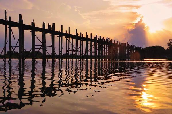 U Bein Bridge, Longest Teak Bridge in the World