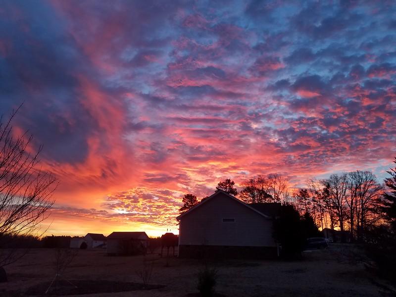 Timberlake sunrise