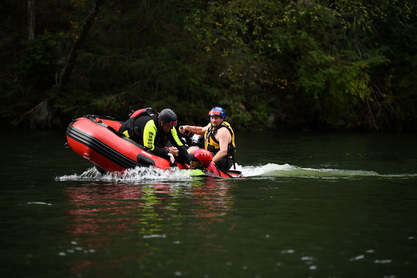 Hiawasee Dam Fire Dept. TR Water Rescue October 2019