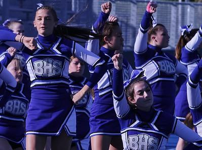 Cheerleaders vs Framingham Game 2012