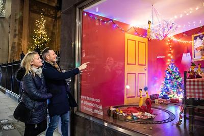 2/12/19 - Beano - Rubber Chicken Christmas Window