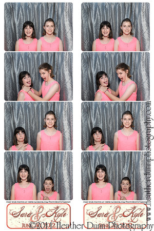 Sara and Kyle - June 30, 2012 - Photo Booth Strips