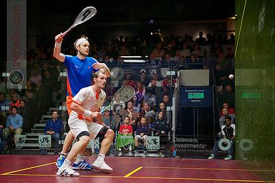2012 U.S. Open Men's Semifinal: Gregory Gaultier (France) defeated James Willstrop (England)