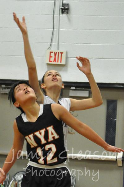 Lady Hawks vs NYA