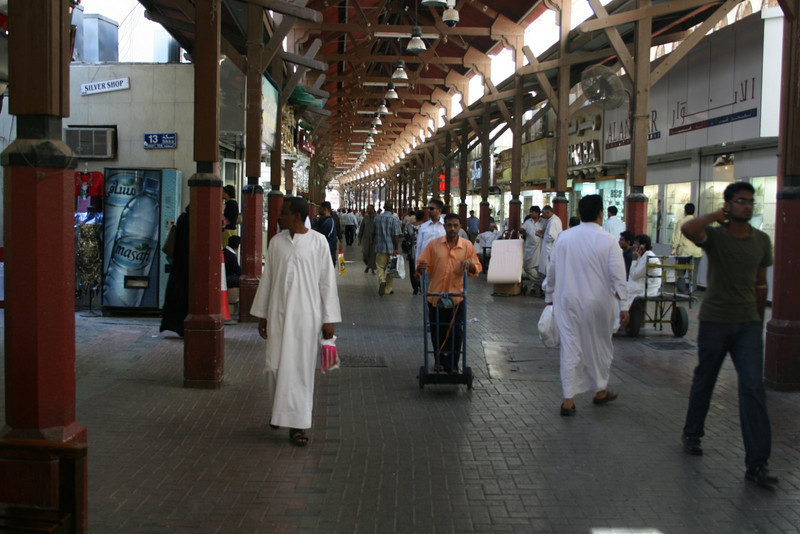 Shoppers at the Gold Souk - Dubai - November 25, 2009