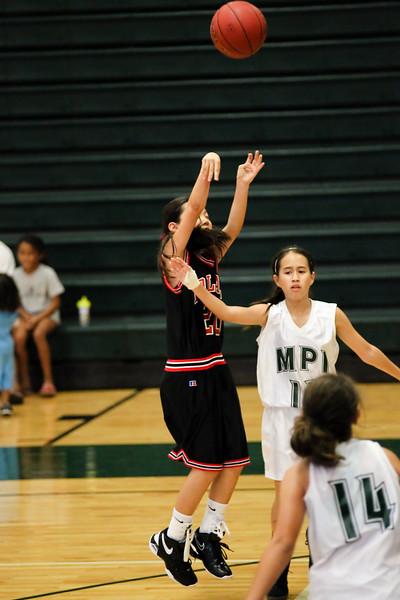 2011 Intermediate II Girls Basketball vs. MPI 11/12/11