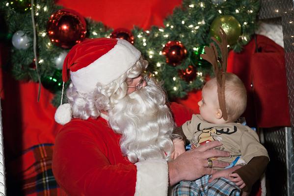 Santa at MFD 12-11-2014