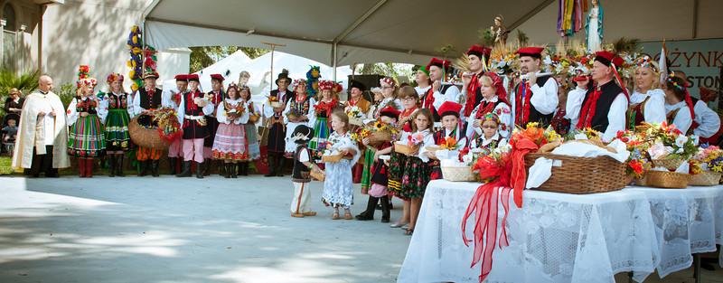 2012 Dozynki Polish Harvest Festival