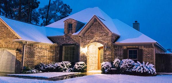Southeast Texas Snow Day!