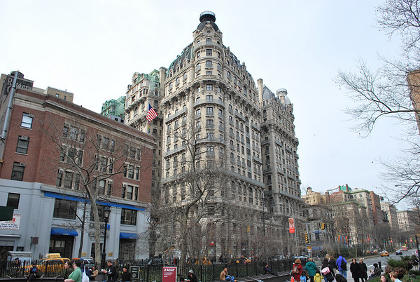 Old New York Apartment Buildings