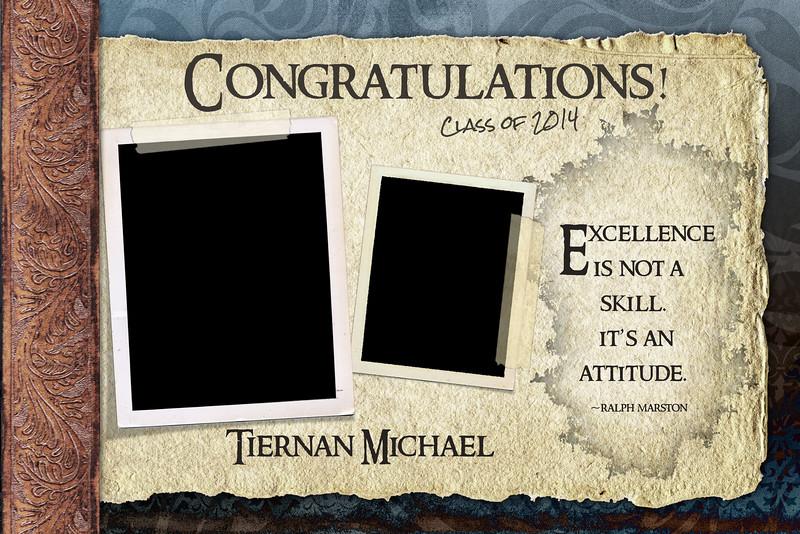 Tiernan Michael - Half Page Template