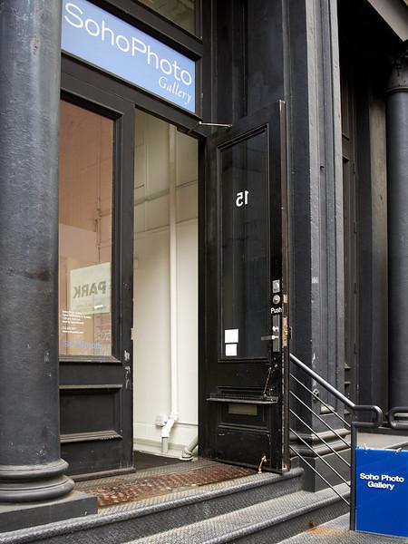 Soho Photo Gallery Entrance
