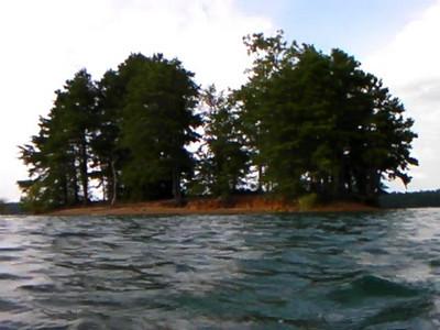 Lake Blue Ridge Islands