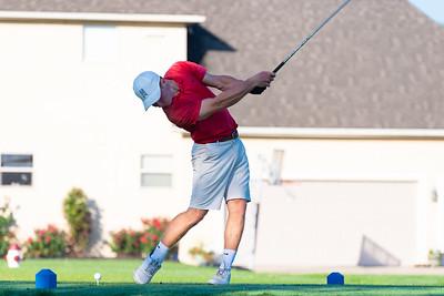 Boys Golf Practice