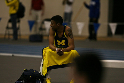 High Jump - 2013 UM vs MSU Indoor Meet