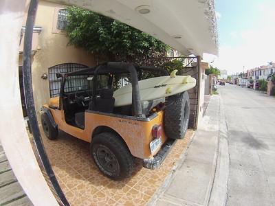 Yellow Jeep