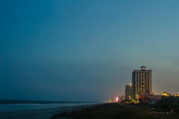 Beachwalk Night