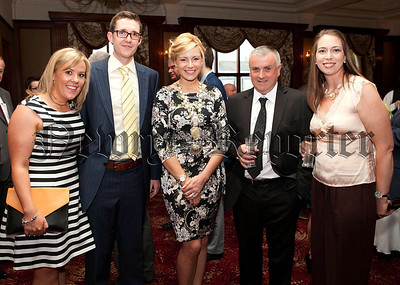 Newry Chamber of Commerce President Deborah Loughran (pictured centre) is joined by Orla Sloan, David Craughwell, Colin Kavanagh and Patricia Regan. R1427118