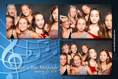 2018 Braden Bar Mitzvah