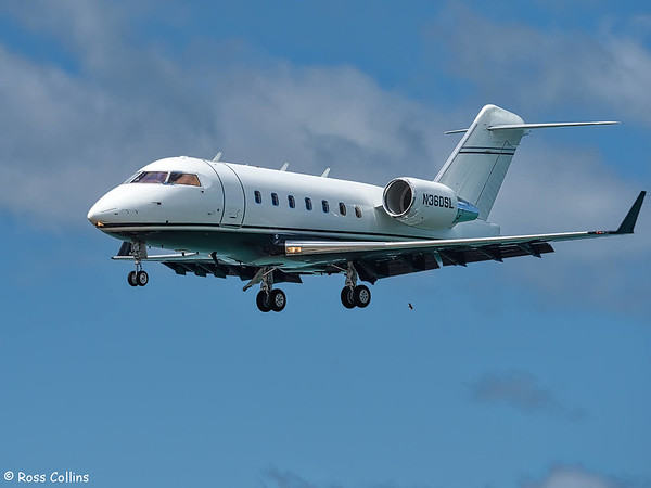 Bombardier Challenger 604 N360SL at Wellington 2018