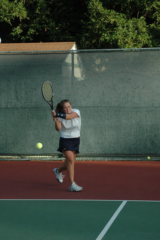 Menlo Girls Tennis 2005 - Player 8