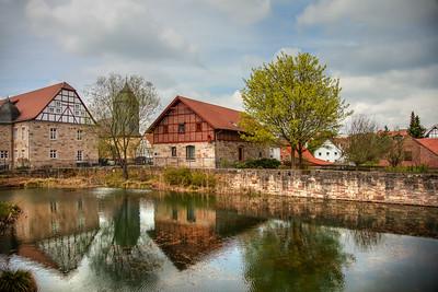 Castle ruin & surrounding, Bad Hersfeld