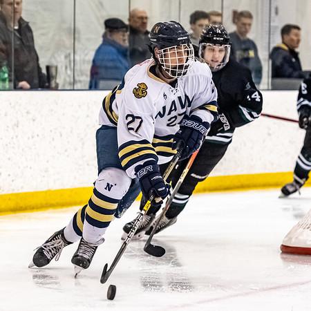 NAVY Men's Ice Hockey vs Stevenson Crab Pot Tournament (02/21/2020)