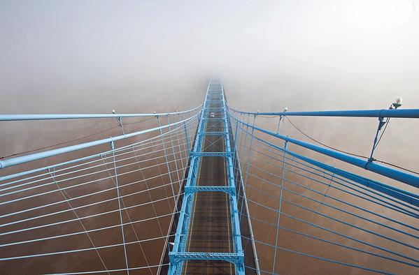 The John Roebling Suspension Bridge