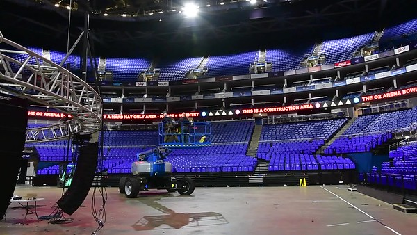 o2 ShowMatch Build Up 13th August 2017