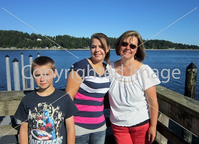 Sharyl, Roben and Kids  7-13-13