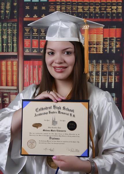 Melissa graduacion