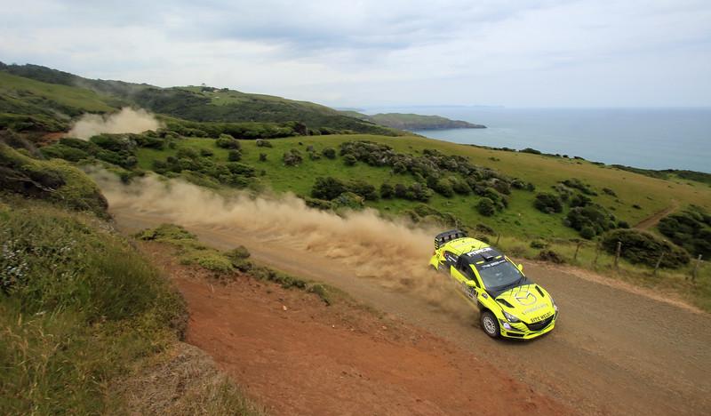 Andrew Hawkeswoodd, Mazda 2 AP4+, SS5 Whaanga Coast 2.