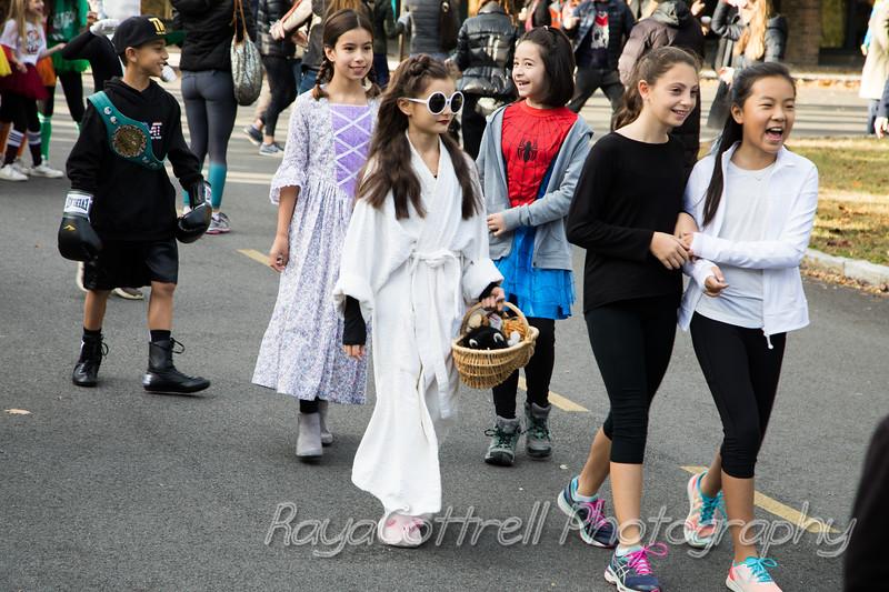 Heathcote Halloween parade